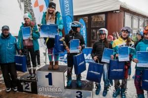 juniorki c podium