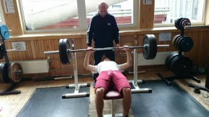 Marcin trening siłownia luty 2014