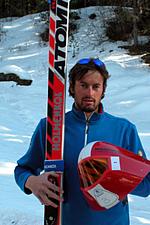 Speed Skier Simone Origone