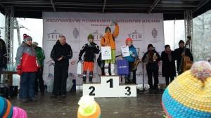 Puchar Karpat -podium